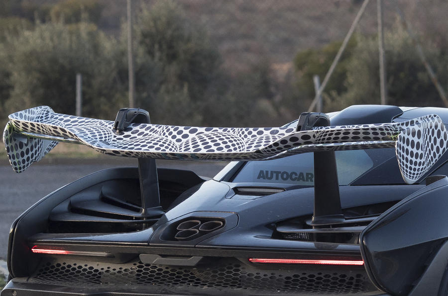 McLaren Senna: exclusive new pictures of 789bhp hypercar testing