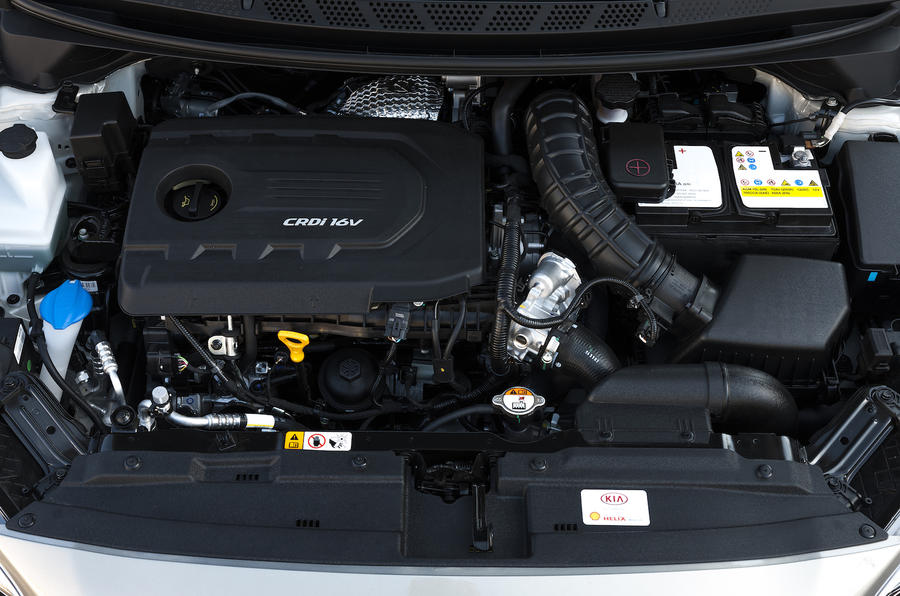 1.6-litre Kia C'eed diesel engine