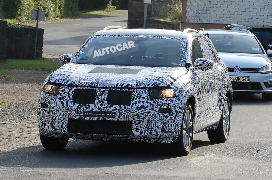 2018 Volkswagen T Cross Production Model Breaks Cover
