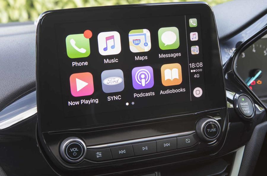 Ford Fiesta Apple Car Play