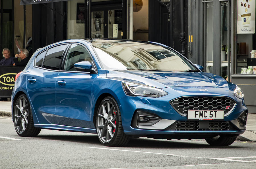 Ford Focus ST 2019 UK first drive review - static