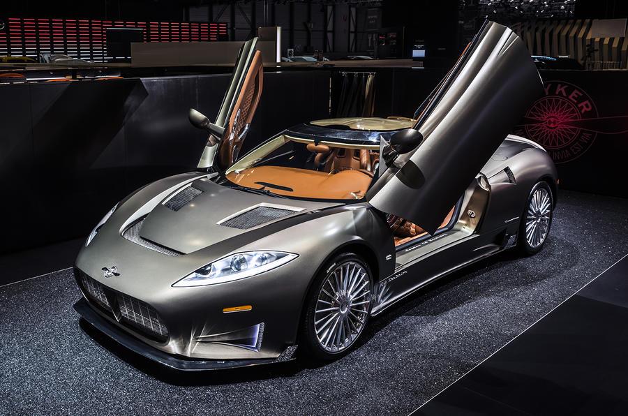Spyker C8 Preliator unveiled in Geneva | Autocar