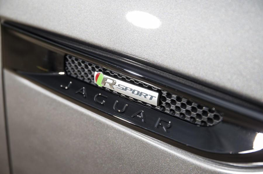 Jaguar F-Pace side vent