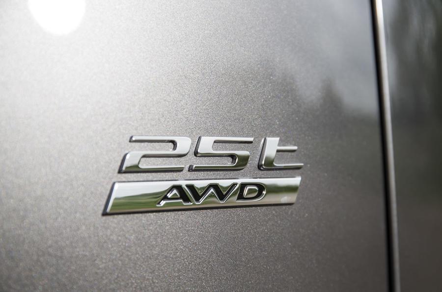 Jaguar F-Pace badging