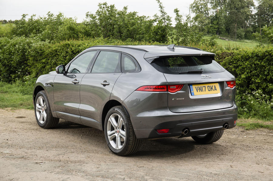 Jaguar F-Pace rear quarter