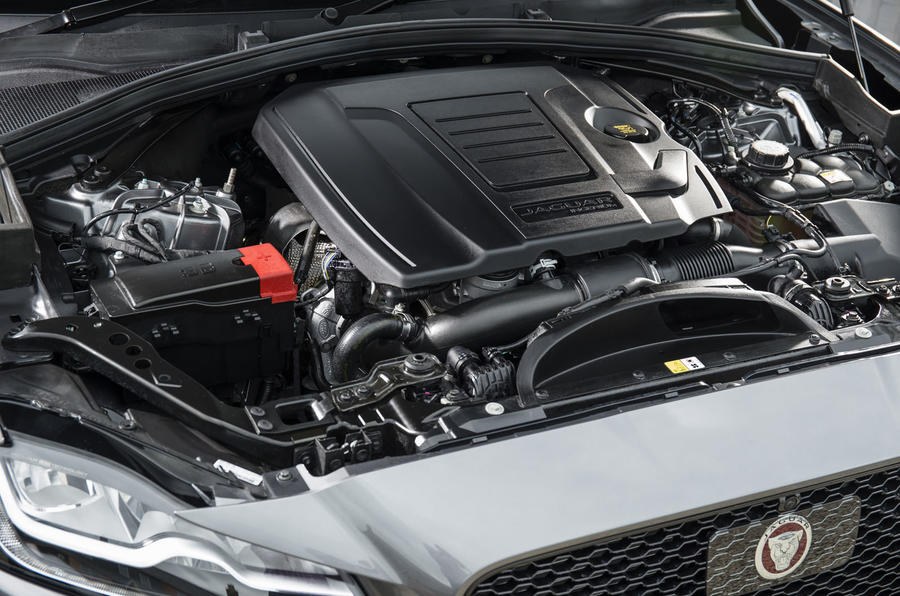 2.0-litre Jaguar F-Pace petrol engine