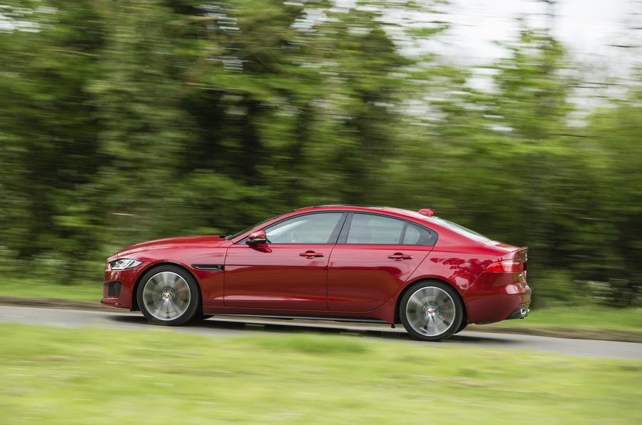 Jaguar XE S side profile