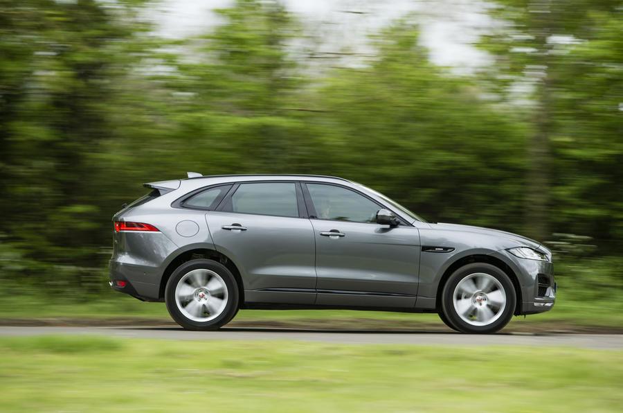 Jaguar F-Pace side profile