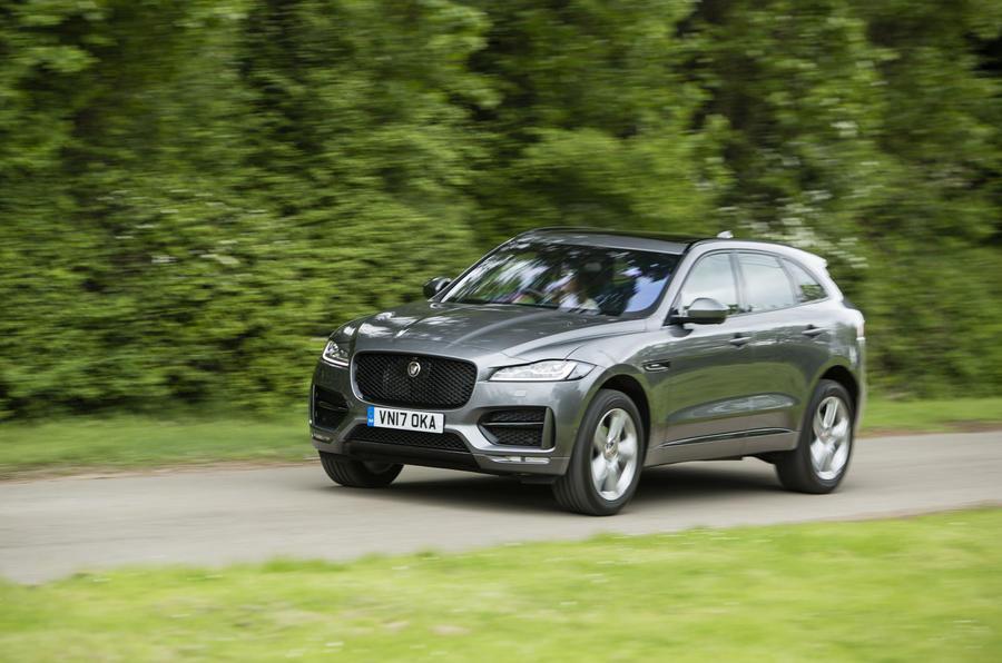 Jaguar F-Pace front quarter
