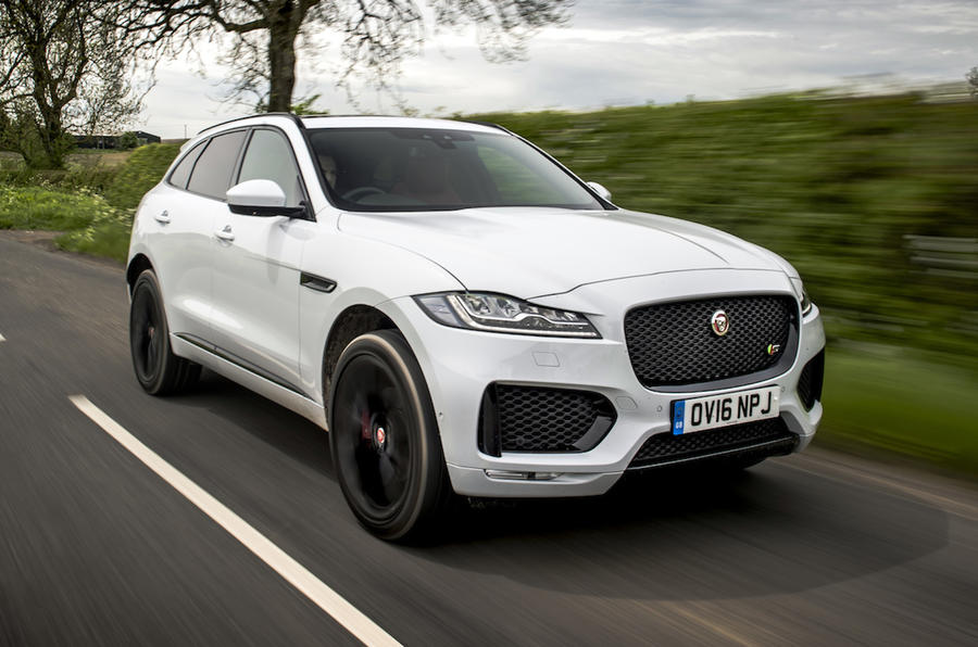 2016 jaguar f pace s awd review review autocar. Black Bedroom Furniture Sets. Home Design Ideas