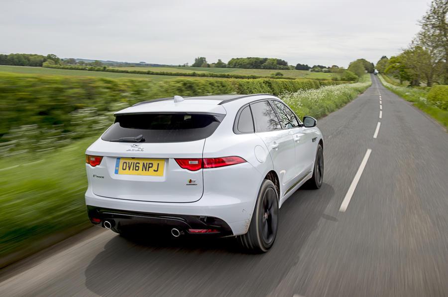 Jaguar F-Pace S rear