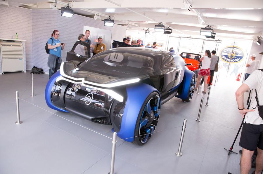 Citroen 19_19 concept at Goodwood 2019 - front