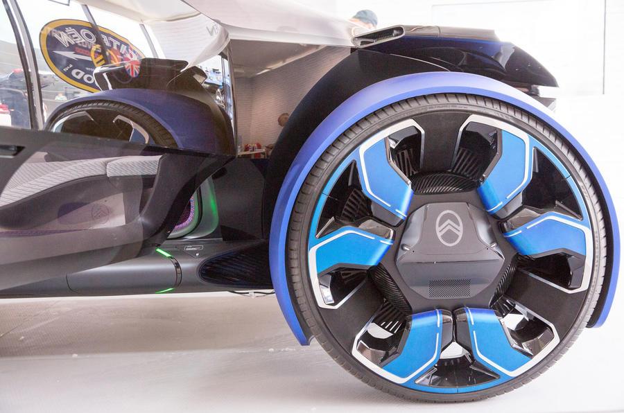 Citroen 19_19 concept at Goodwood 2019 - wheels