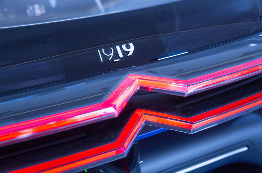 Citroen 19_19 concept at Goodwood 2019 - rear lights