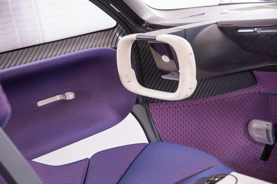 Citroen 19_19 concept at Goodwood 2019 - steering wheel