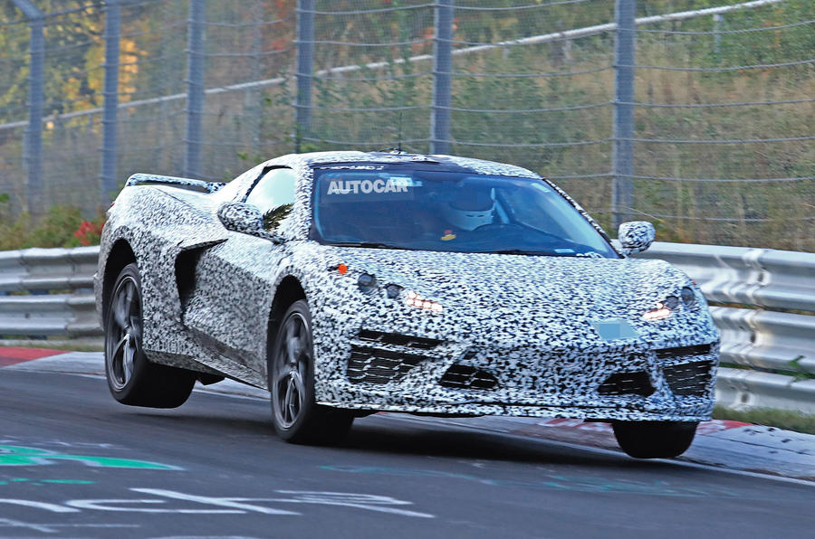 Chevrolet confirms C8 Corvette in first official images ...