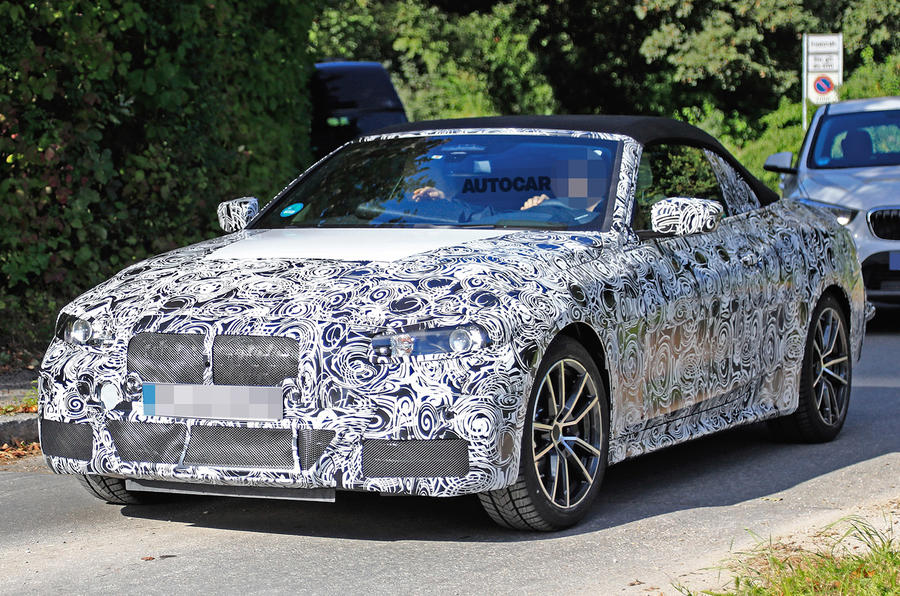 2020 bmw 4 series convertible to ditch folding hard top autocar. Black Bedroom Furniture Sets. Home Design Ideas