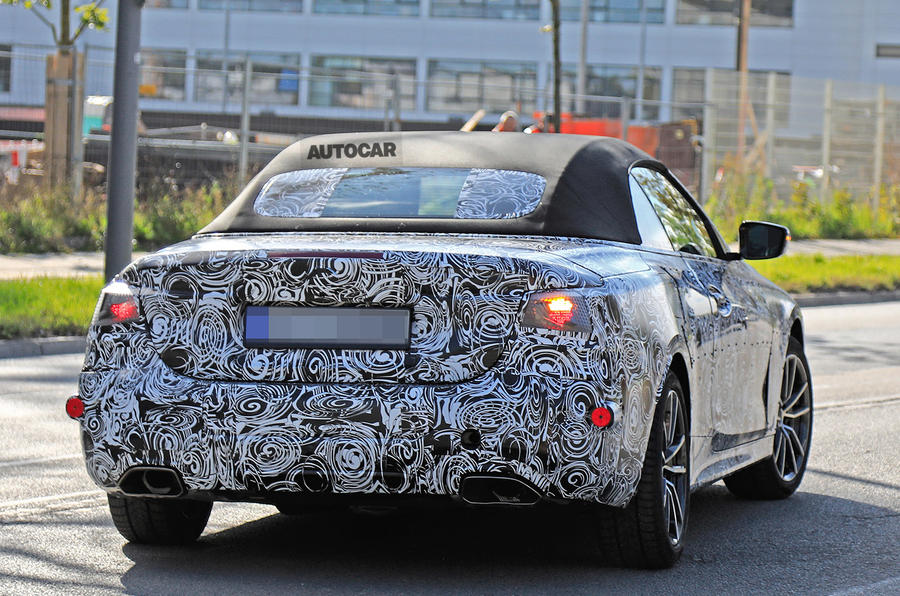 2020 BMW 4 Series Convertible to ditch folding hard-top ...