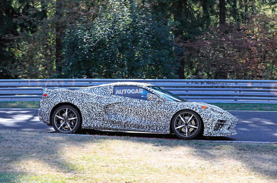 2019 Corvette C8 tests flat out at the Nürburgring: with video