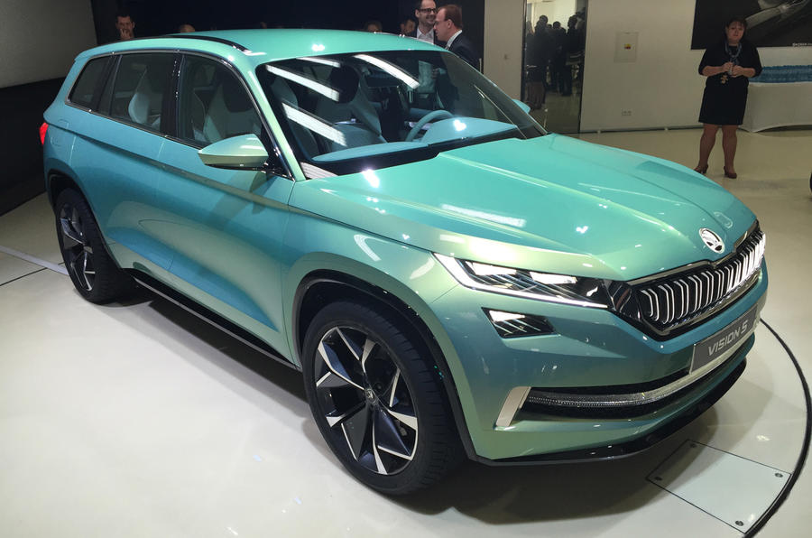 2017 Skoda Kodiaq Official New Teaser Pictures And Video
