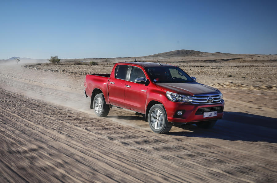 £24,923 Toyota Hilux Invincible