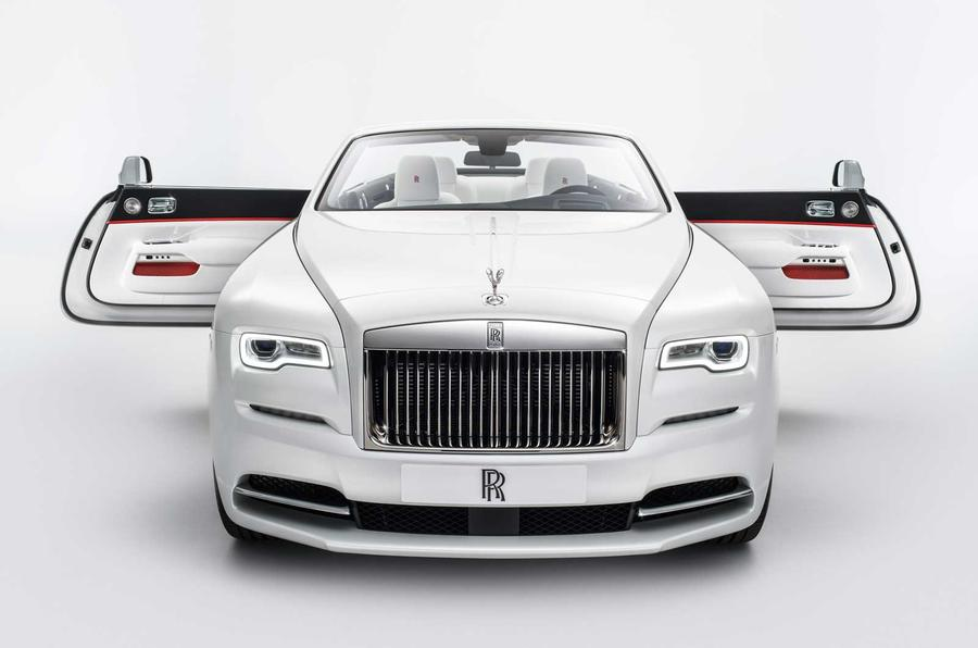 Rolls Royce Dawn Turns To Fashion For New Special Edition