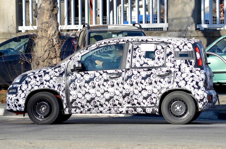 2017 Fiat Panda spy shots