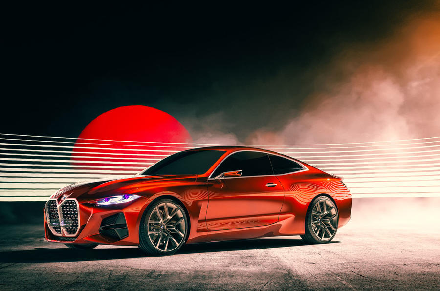 Bavaria Announces its Unfortunate Grille Addiction with The BMW Concept 4
