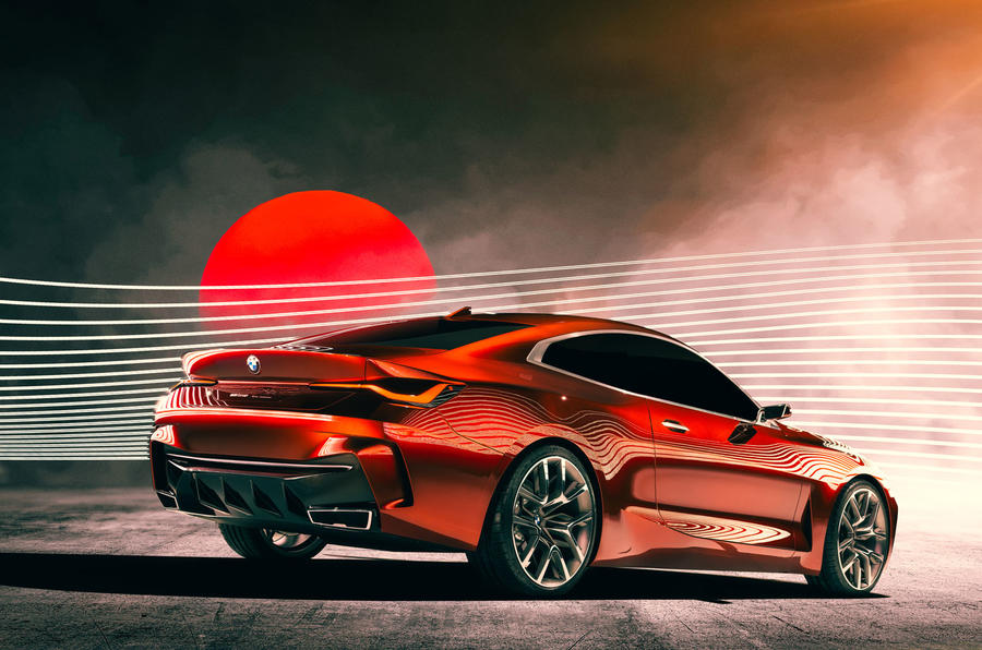 BMW Concept 4 Series Coupe - static rear
