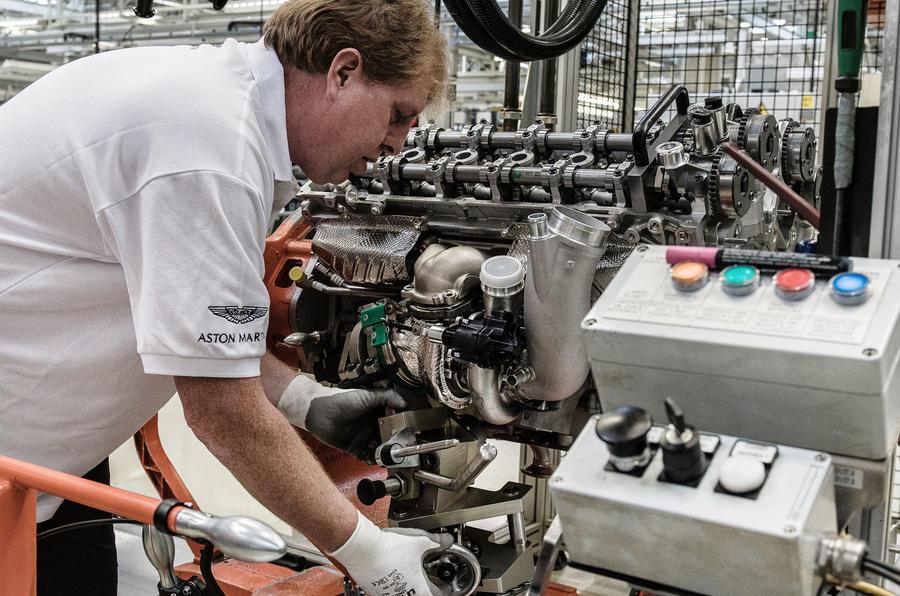 Aston Martin factory