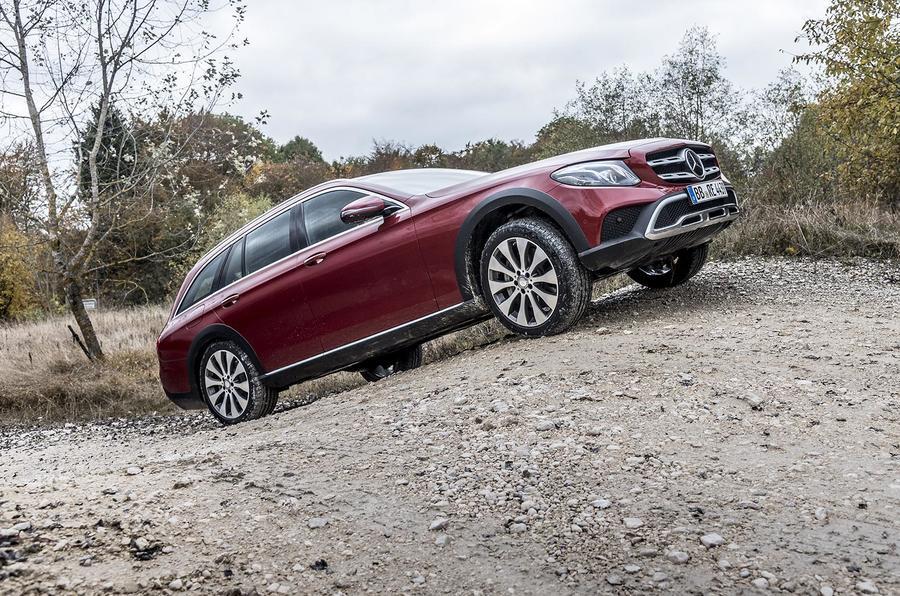Mercedes-Benz E-Class All-Terrain - first passenger ride