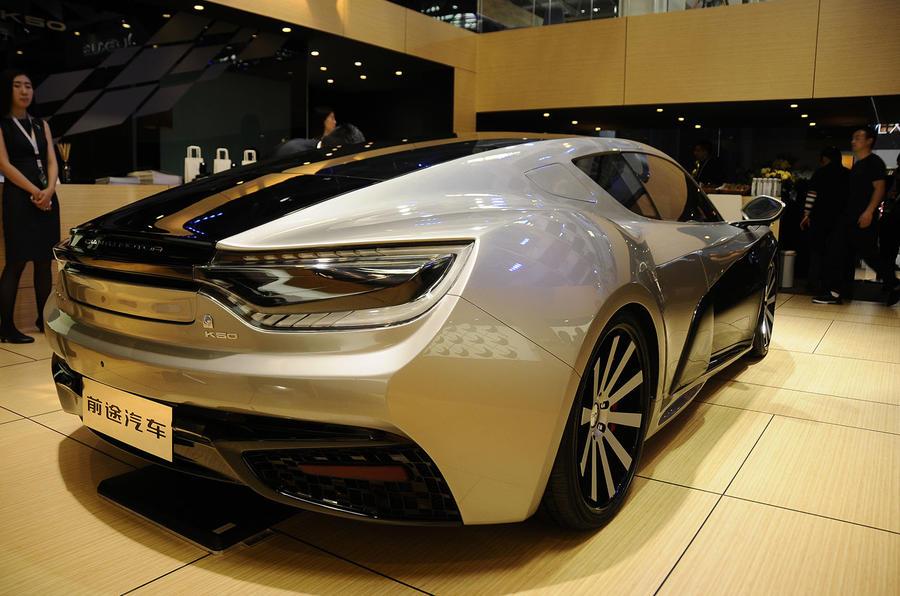 Qiantu K50 402bhp Electric Sports Car On Show In Beijing