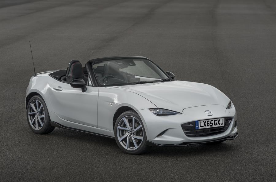 New Mazda MX-5 Sport Recaro edition