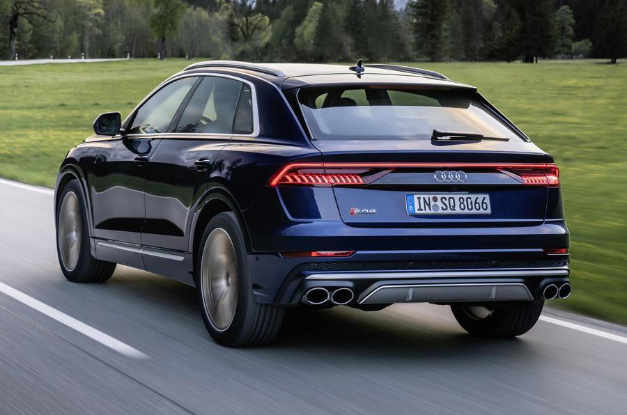 2020 Audi SQ7 and SQ8: new petrol V8