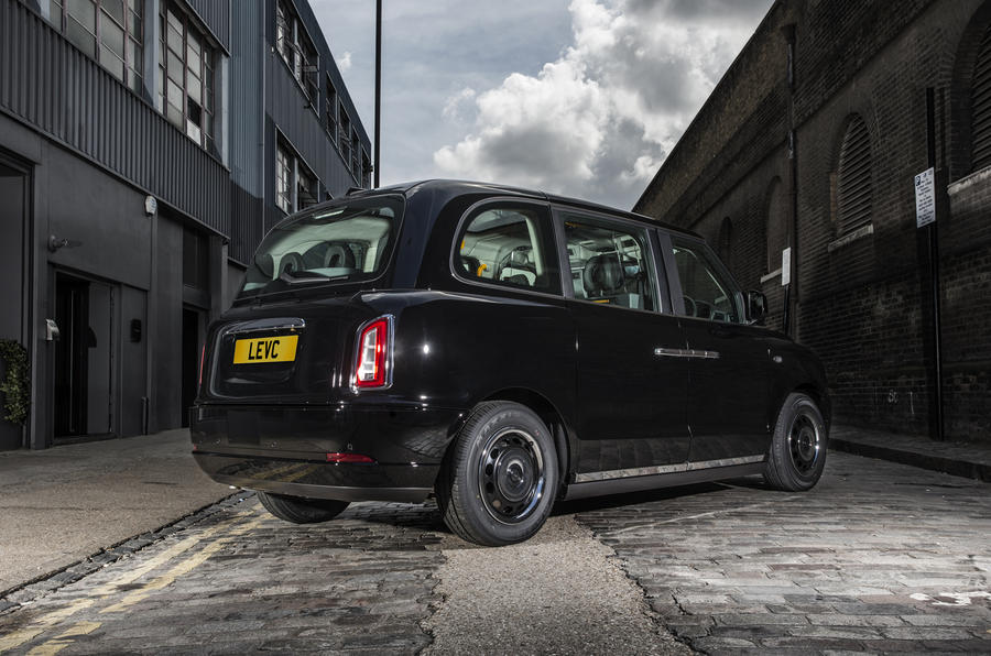 London's black cabs to go electric