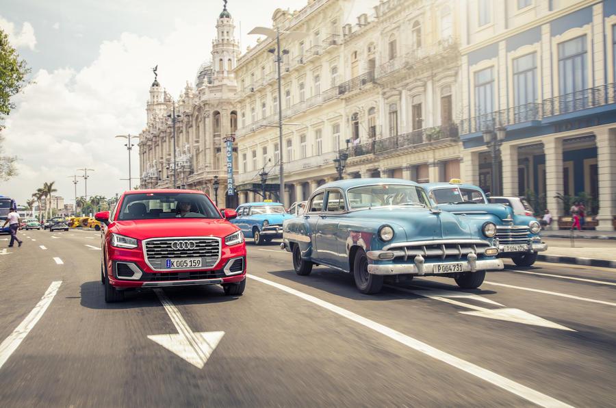 Audi Q2 in Havana