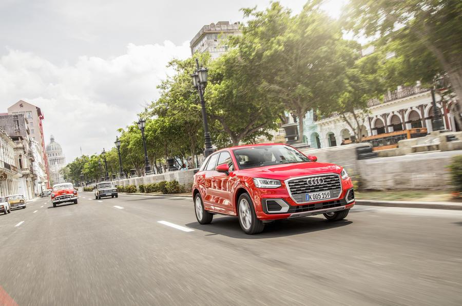 Audi Q2 front quarter