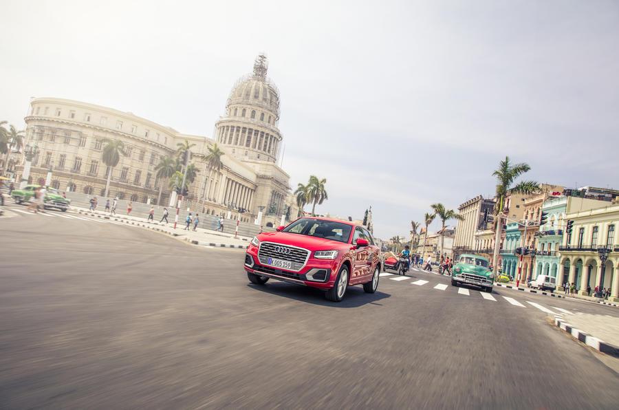 Audi Q2 in Cuba
