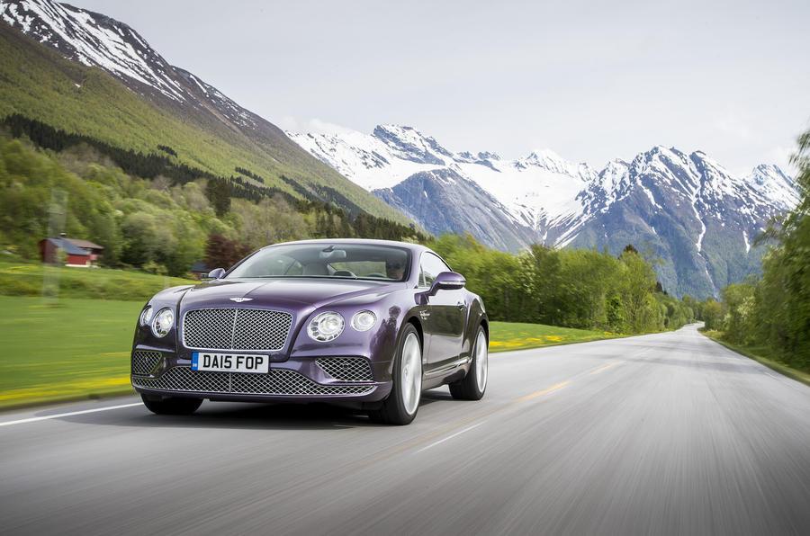 £150,500 Bentley Continental GT