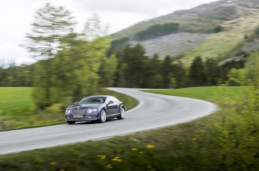 197mph Bentley Continental GT
