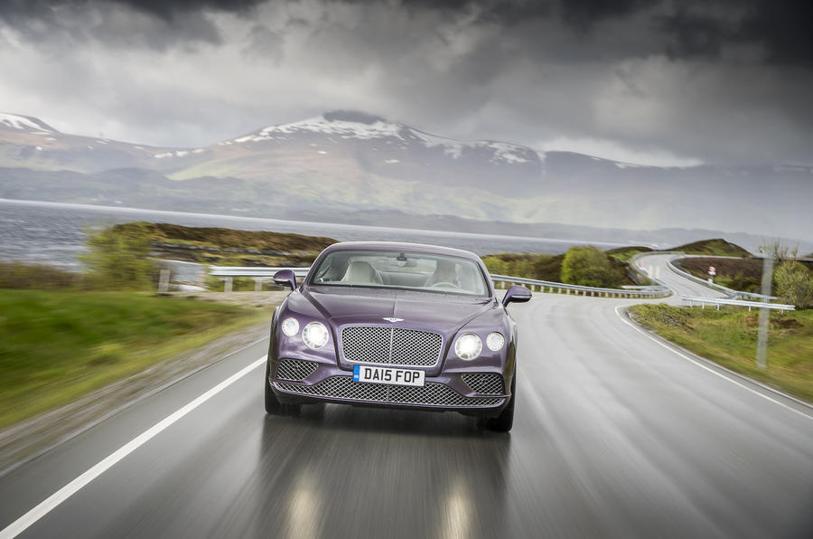 4 star Bentley Continental GT