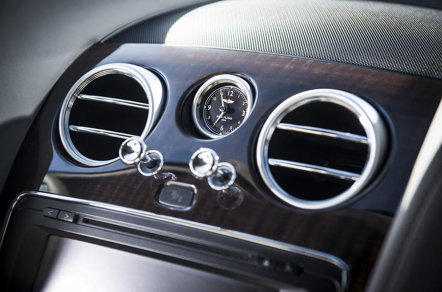 Bentley Continental GT air vents