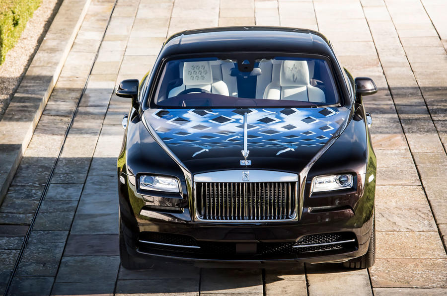 Rolls-Royce unveils custom-made cars designed by Roger Daltrey, Ray Davies