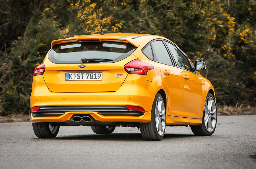 Ford Focus ST-3 rear cornering