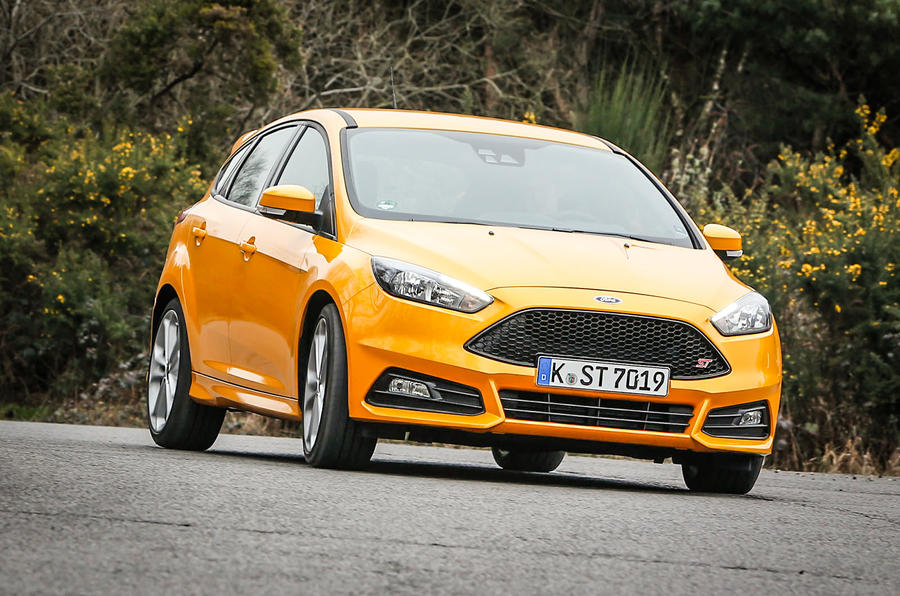 Ford Focus ST-3 cornering