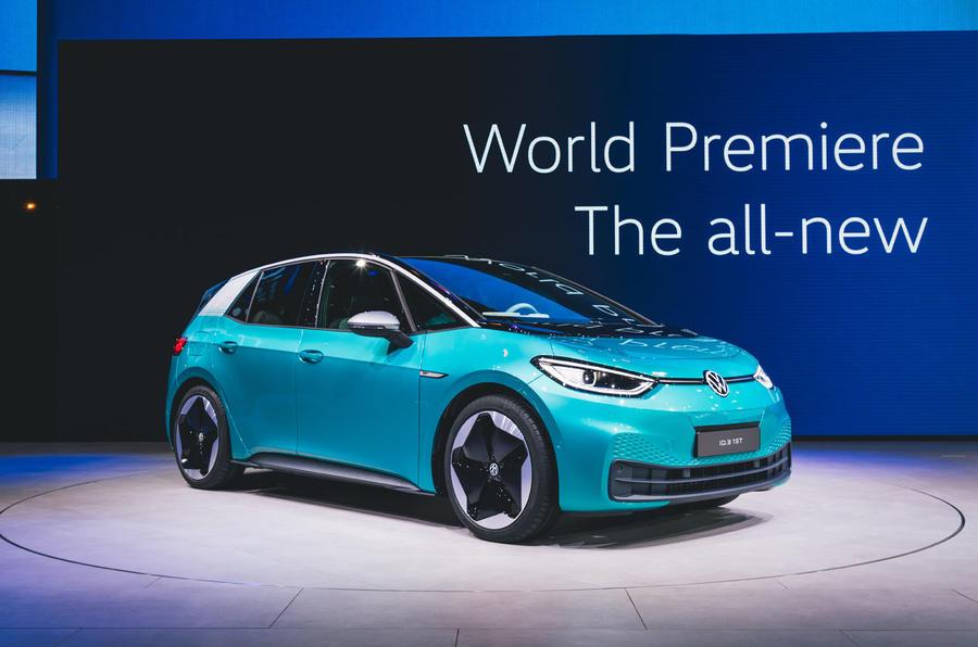 2020 Volkswagen ID 3 at Frankfurt motor show