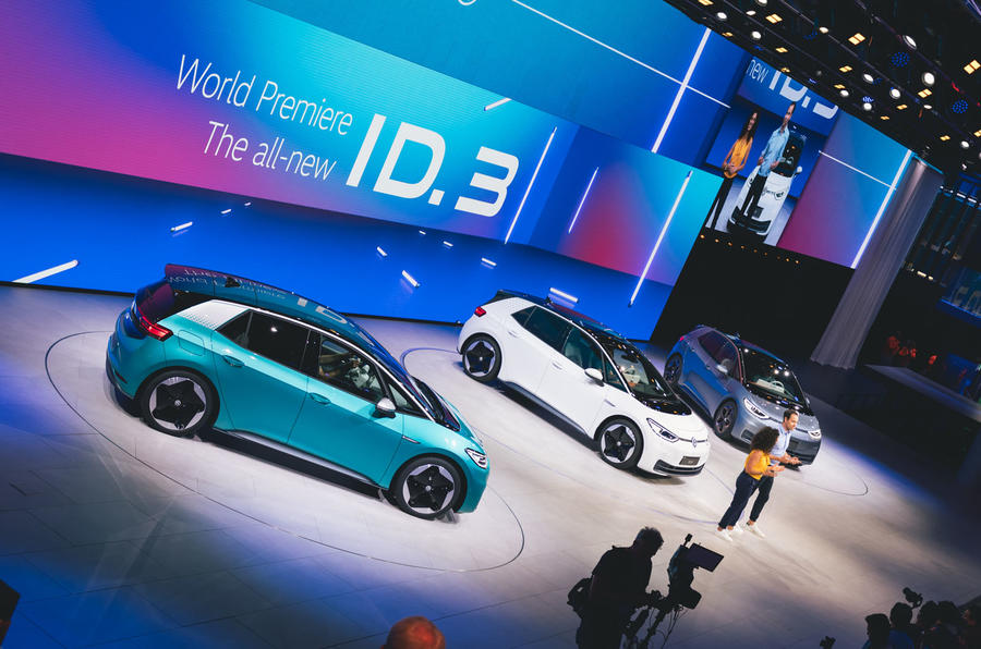 Volkswagen ID 3: vital EV revealed with up to 341-mile range