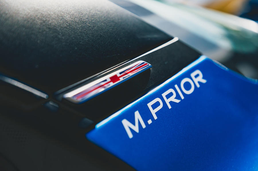 M. Prior decal