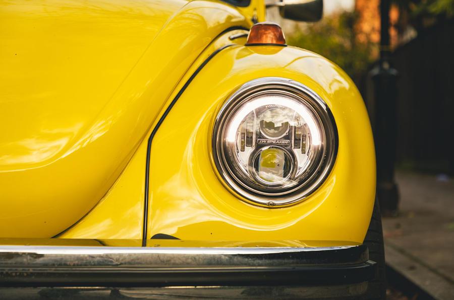 Electric Beetle - headlight