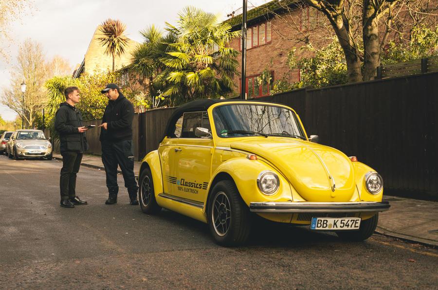 Joseph Salama and electric Beetle